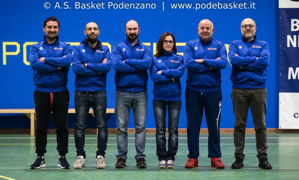 Da sinistra: Valerio Meloni, Alberto Archilli, Andrea Trenchi, Alessandra Storti, Jordan Kolevski, Cristiano Repetti